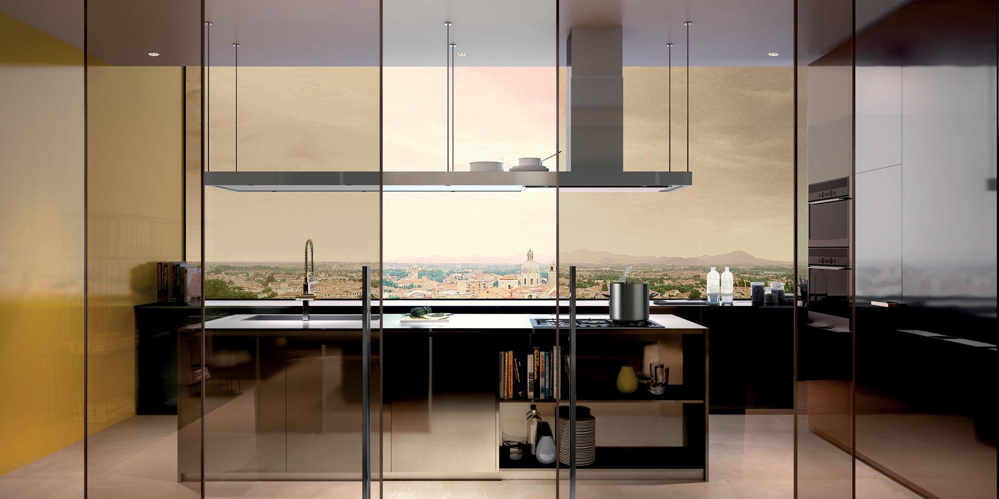 cucina-bronzo-Henry-Glass