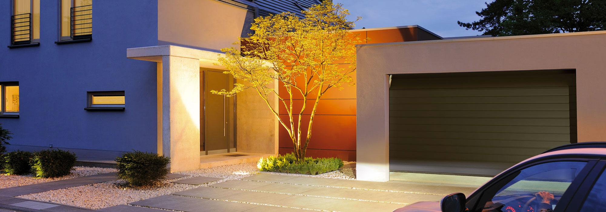 Porte da garage Hormann.